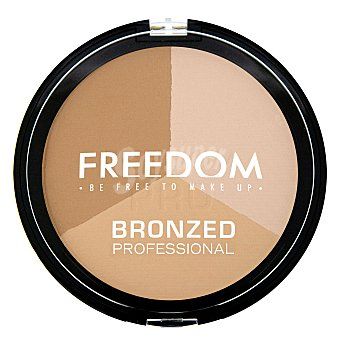 Polvo bronceadores Bronzed Proffesional Warn Freedom 1 ud