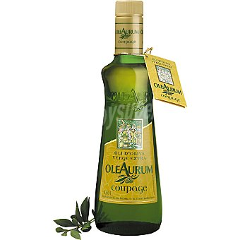 Oleaurum Aceite de oliva virgen extra copuage Botella de 50 cl