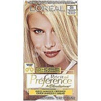 Preference L'Oréal Paris Tinte rubio ultra claro Caja 1 unid