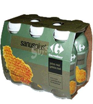 Carrefour Sanus Plus+ con jalea real Pack de 6x100 g