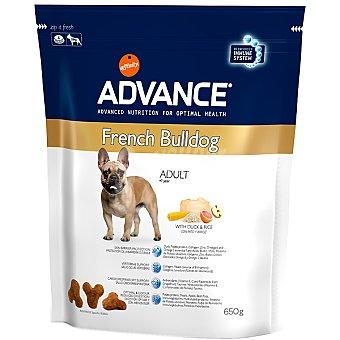 Advance Affinity Alimento de alta gama para perros adultos con pato y arroz French Bulldog Bolsa 650 g