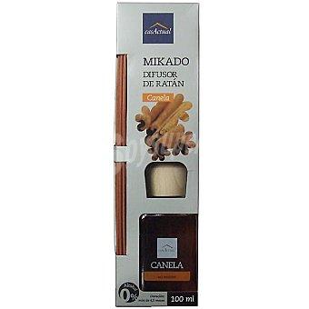 CASACTUAL Mikado Ambientador en varillas aromáticas Canela 100 ml