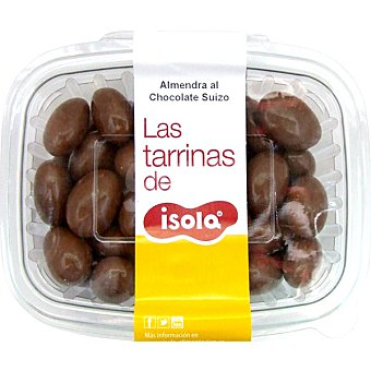 ISOLA Almendra recubierta de chocolate suizo Tarrina 250 g