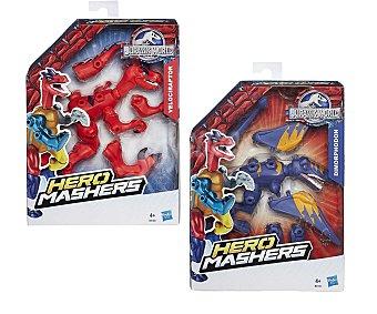 HASBRO Figuras desmontables e intercambiables Jurassic World Hero Mashers 1 unidad