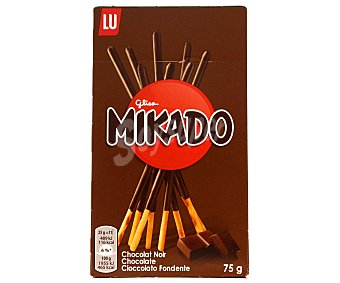 Mikado Palitos de galleta con chocolate 75 g