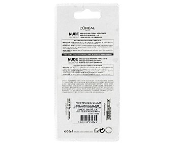 L'Oréal Crema Maquillaje Piel Media BB Cream Nude Magique 30 mililitros