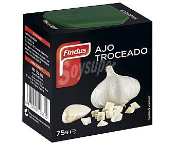 Findus Ajo troceado congelado 100% natural Estuche 75 g