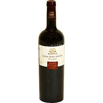 Casa don angel Vino tinto Malbec de Valencia Botella 75 cl