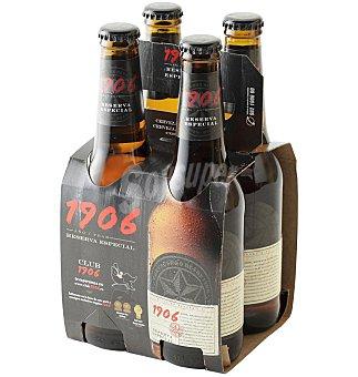 1906 Cerveza reserva esp Pack 4 unidades
