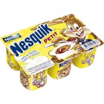 Nesquik Nestlé Milkybar Petit de chocolate Pack 6x55 g