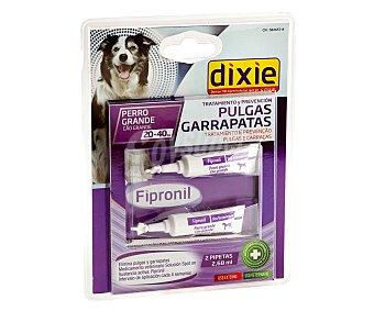 Dixie Pipetas insectífugas para perros grandes (20-40kg) 2,68 mililitros