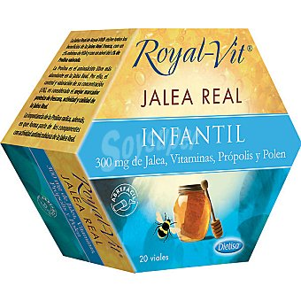 Royal-vit Jalea real infantil estuche 20 ampollas