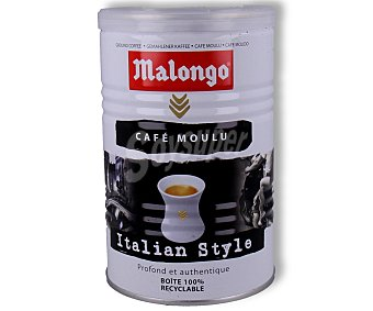 Malongo Café molido al estilo italiano 250 g