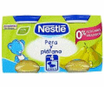 Nestlé Tarrito Duo de pera y plátano Pack 2x130 g