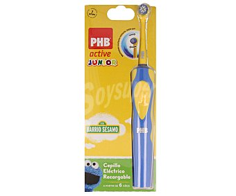 Phb Cepillo dental recargable junior de color azul 1 unidad