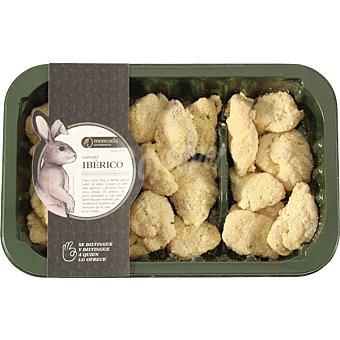 Moncada Crujientes de conejo ibérico bandeja 320 g bandeja 320 g