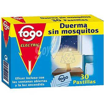 Fogo Insecticida volador eléctrico antimosquitos recambio 30 pastillas