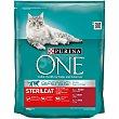 Pienso para gatos esterilizado a base de buey 800 g Purina One