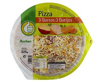 Productos Económicos Alcampo Pizza fresca 3 quesos 325 gramos