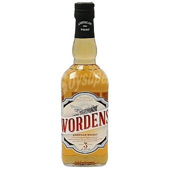 Wordens Whisky americano Botella 70 cl
