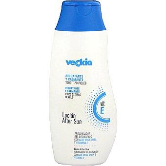Veckia After sun hidratante y calmante con aloe vera urea y vitamina E para todo tipo de piel Frasco 250 ml