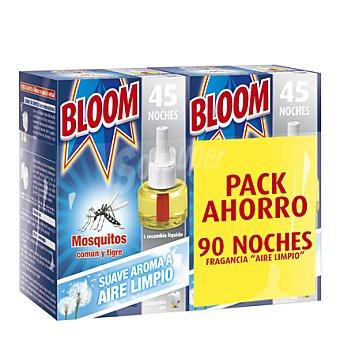 Bloom Insecticida eléctrico mosquitos 2 recambios