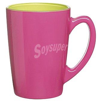 LUMINARC  Spring Taza mug de desayuno en color rosa 1 unidad