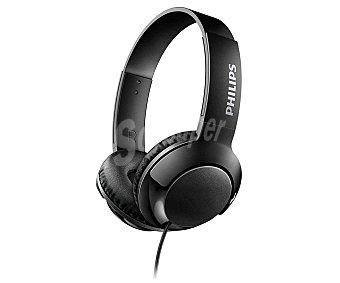 Philips Auriculares tipo diadema SHL3070BK, micrófono, color negro micrófono, color negro