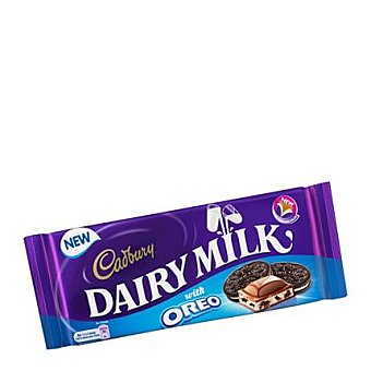 Cadbury Chocolate con leche y oreo 120 g
