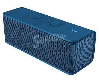 Qilive Mini altavoz BT NFC Q1019, por batería, Bluetooth, micrófono, potencia 6 Watios, azul Q.1019