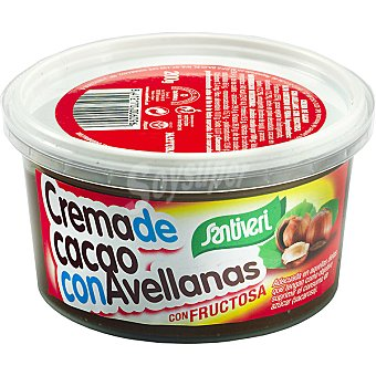 Santiveri Natura crema de cacao con avellanas sin azúcar Tarro 200 g