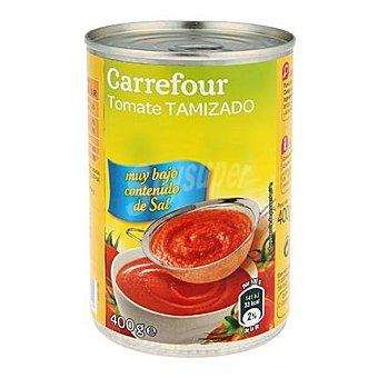 Carrefour Tomate tamizado contenido bajo de sal 400 G 400 g
