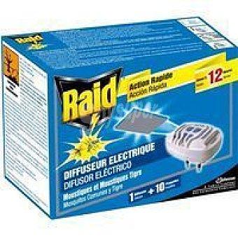 Raid Insecticida eléctrico pastillas Aparato + recambio