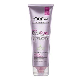 L'Oréal-Hair Expertise Crema suavizante color & alisado everpure para cabellos teñidos 250 ml