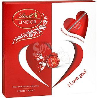 Lindt Bombones Lindor de chocolate cremoso con pulsera exclusiva de Swarovski  Estuche de 125 g