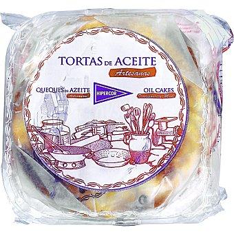 Hipercor Tortas aceite paquete 180 g 6 unidades
