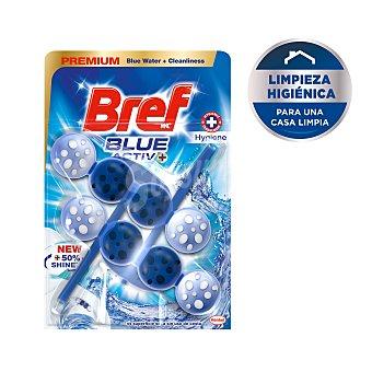 Bref WC Bloc wc azul poder activo Blíster 2 uds