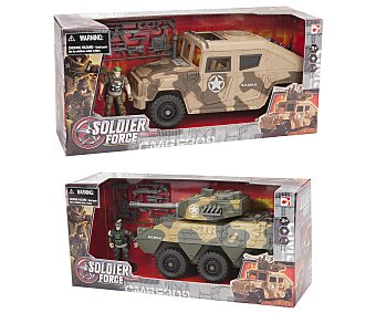 SOLDIER FORCE Supervehículo de Guerra 1 Unidad