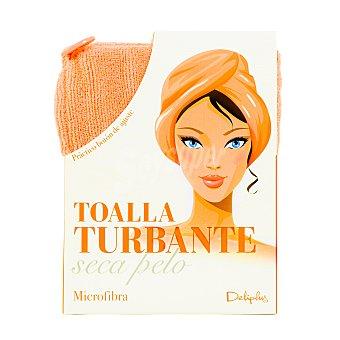 Deliplus Toalla turbante seca pelo color u