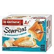 Rebozados crujientes de queso mozzarella y mezcla de quesos, con forma de sonrisa 4 uds La Cocinera