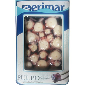 MERIMAR Pulpo Cocido troceado Bandeja 220 g