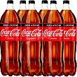 Refresco de cola clásica Pack 6 x 2 l Coca-Cola