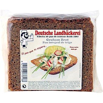 DEUTSCHE LANDBÄCKEREI Graham Brot pan integral de trigo Paquete 250 g