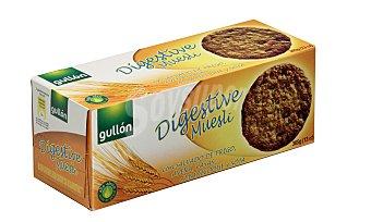 Gullón Galleta digestive muesli Paquete de 365 gramos