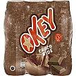 Batido esterilizado con sabor a chocolate 3 x 188 ml Okey