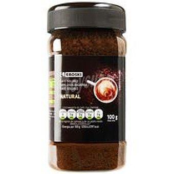 Eroski Café soluble natural frasco 100 g