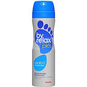 Byly Desodorante para pies doble acción relax frasco 200 ml Frasco 200 ml