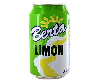 Berta Refresco de Limón Lata de 33 Centilitros