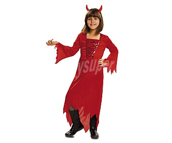 My other me Disfraz infantil Demonia Roja, talla L, de 7 a 9 años 1 unidad