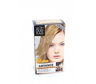 Llongueras Tinte Color Advance rubio claro claro nº 9 crema gel colorante caja 1 unidad Caja 1 unidad